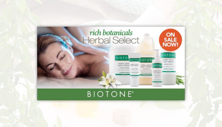 Promotion on Helbal Select by Biotone!